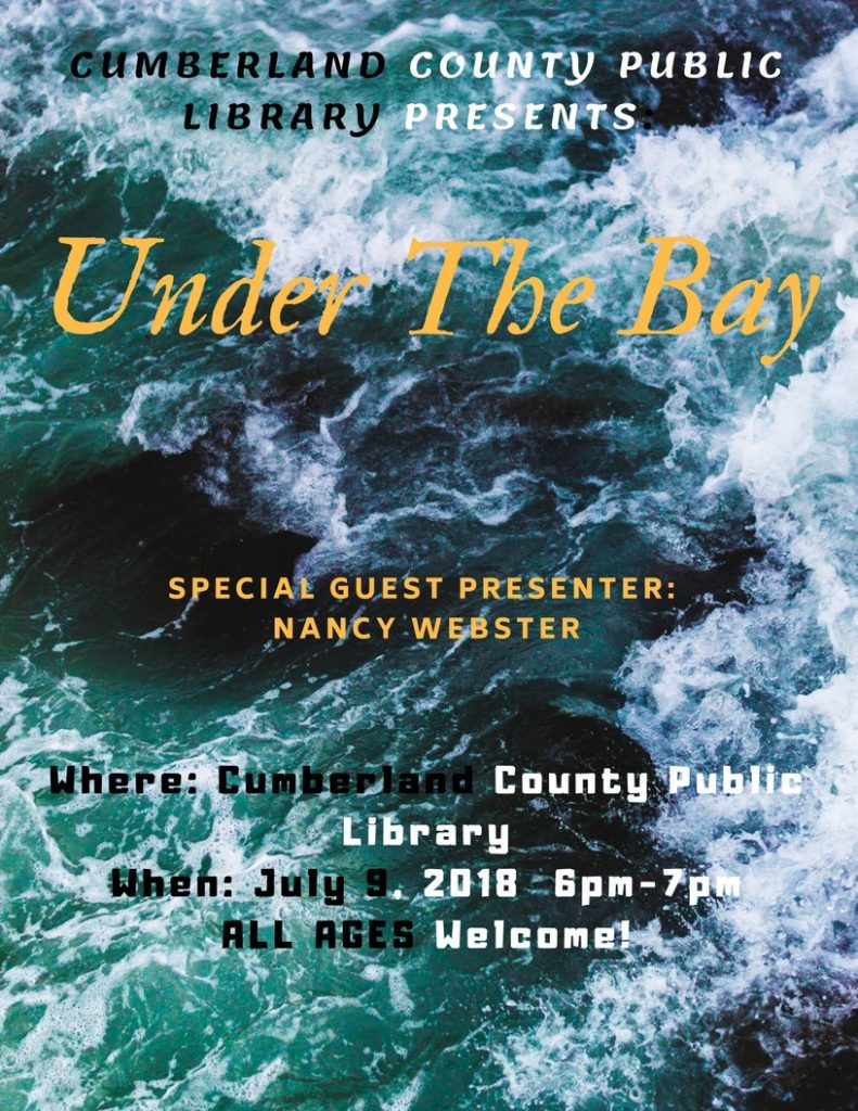 Under The Bay! @ Cumberland County Public Library